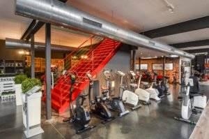 Showroom met ruim aanbod cardio fitnesstoestellen