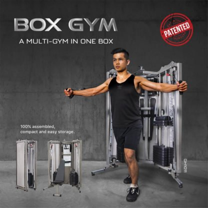 DC Athletics Ultimate Bronx Box Gym