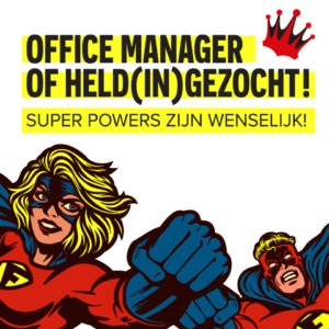 Vacature office manager